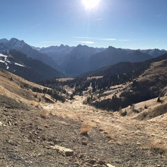 Photo taken at Rifugio Passo Sella by Marco G. on 12/7/2015