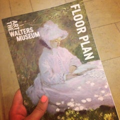 Photo taken at Walters Art Museum by Emily S. on 7/7/2013