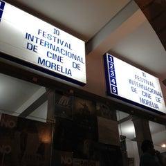 Photo taken at 10mo Festival Internacional de Cine de Morelia by Emmanuel L. on 11/4/2012