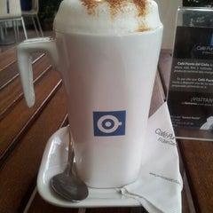 Photo taken at Café Punta del Cielo by Alfonso E. on 10/8/2012