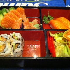 Photo taken at Sumo Sushi & Bento, Garhoud by Lester P. on 5/12/2012