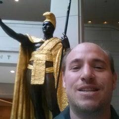 Photo taken at King Kamehameha Statue by Michael M. on 12/20/2013