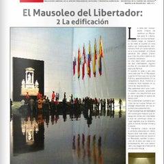Photo taken at Mausoleo del Libertador Simón Bolívar by Melissa A. on 7/28/2013