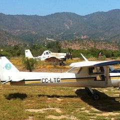 Photo taken at Aeródromo de Curacaví SCCV by Ricardo O. on 11/12/2012