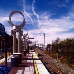 Photo taken at Willow Metro Station by Jordan T. on 4/8/2014