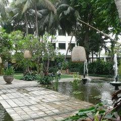 Photo taken at Hotel Bumi Surabaya by Isyana G. on 10/6/2012