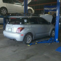 Photo taken at Gateway Tire and Service Center by Brian E. on 2/2/2013