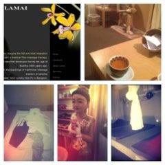 Photo taken at Lamai Thai Massage by cynietra c. on 11/29/2012