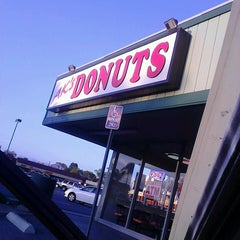 Photo taken at AK's Donuts by Darrell R. on 4/5/2013