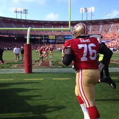 Photo taken at Candlestick Park by Sabrina Q. on 8/9/2013