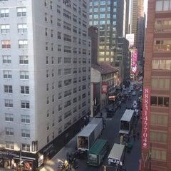 Photo taken at Hampton Inn Manhattan Times Square North by Marina T. on 1/9/2014