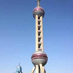 Photo taken at 东方明珠塔 | Oriental Pearl Tower by real v. on 12/6/2012