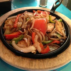 Photo taken at La Fiesta Patio Cafe by Grayson P. on 2/1/2013