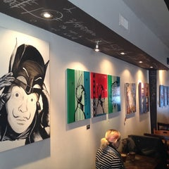 Photo taken at Kahwa Café by Mahdi K. on 12/27/2013