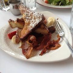 Photo taken at Mon Petit Café by Amanda on 11/15/2012