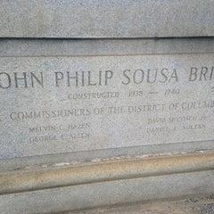 Photo taken at John Philip Sousa Bridge by Yaya E. on 8/7/2013