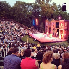 Photo taken at Delacorte Theater by Brian B. on 6/3/2013