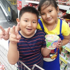 Photo taken at Carrefour by Lusy A. on 6/20/2014