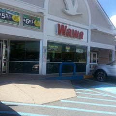 Photo taken at Wawa by Crystal C. on 9/28/2013