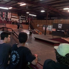 Photo taken at Skatepark Of Tampa by The Skate S. on 1/23/2015