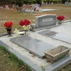 Photo taken at O P Flynt Family Gravesite by Jeffrey F. on 12/13/2012