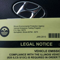 Photo taken at Illinois Air Team - Emissions Testing Station by Maria M. on 4/18/2013