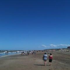 Photo taken at Playa de San Clemente del Tuyú by Mauro B. on 12/10/2012