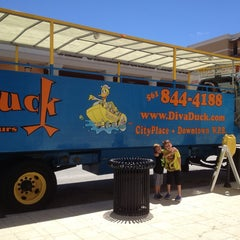 Photo taken at DivaDuck Amphibious Tours by Mary A. on 8/13/2013