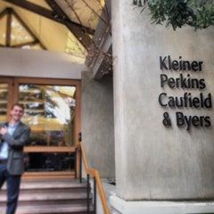 Photo taken at Kleiner Perkins Caufield & Byers by Matthew P. on 11/21/2013