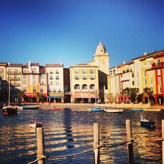 Photo taken at Loews Portofino Bay Hotel at Universal Orlando by Mike S. on 3/29/2013