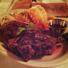 Photo taken at Schlesinger's Steak House by Jon Jon on 5/29/2015
