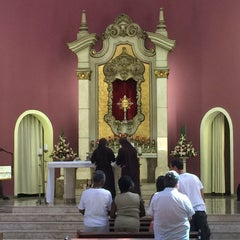 Photo taken at Templo Votivo do Santíssimo Sacramento by Roberto X. on 9/19/2015