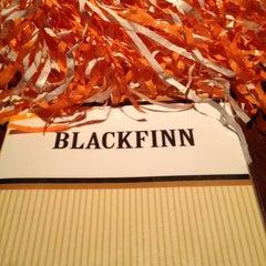 Photo taken at BlackFinn American Saloon by Pam on 10/14/2012
