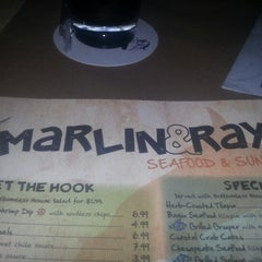 Photo taken at Marlin & Ray's Seafood by Curtis P. on 12/28/2012