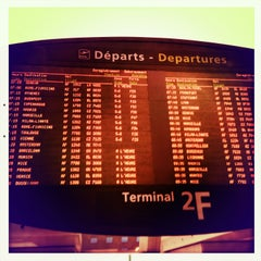 Photo taken at Terminal 2F by Guillaume L. on 5/6/2013