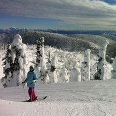 Photo taken at Whitefish Mountain Resort by Blake T. on 1/21/2013