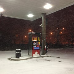 Photo taken at Petro-Canada by Irina S. on 1/18/2013