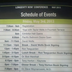 Photo taken at The Longevity Now Conference by Kristen W. on 5/3/2013