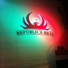 Photo taken at República Real by Matheus M. on 1/1/2013
