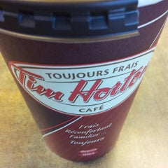 Photo taken at Tim Hortons by Tyler P. on 1/11/2014