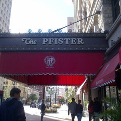 Photo taken at The Pfister Hotel by Sam K. on 9/23/2012