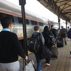 Photo taken at Hartford Union Station (HFD) - Amtrak by DB on 4/26/2013