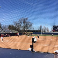 Photo taken at Nittany Lion Softball Park by Charlene S. on 4/12/2015