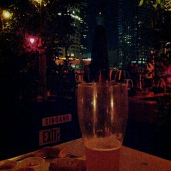 Photo taken at The Biergarten at The Standard, Downtown LA by Daniel R. on 9/29/2013
