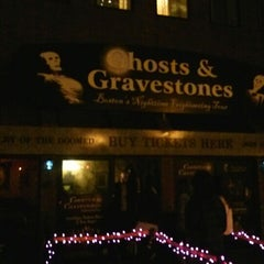 Photo taken at Ghosts and Gravestones Boston by Marcia D. on 10/27/2012