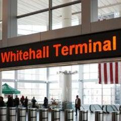 Photo taken at Staten Island Ferry - Whitehall Terminal by Grace J. on 4/28/2013