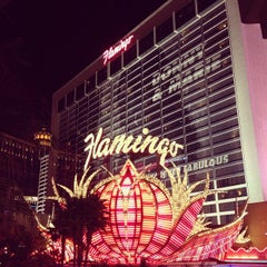 Photo taken at Flamingo Las Vegas Hotel & Casino by Katie C. on 12/21/2012