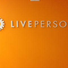 Photo taken at LivePerson - Hudson Yards by Ariel C. on 4/30/2013