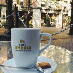 Photo taken at Caffè Umbria by Mark V. on 9/8/2013