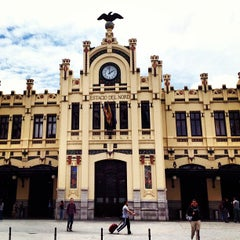 Photo taken at Estació del Nord by Alberto A. on 5/21/2013